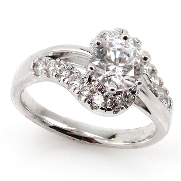 Swirl Engagement Ring Mounting (0.45 ct. tw.)