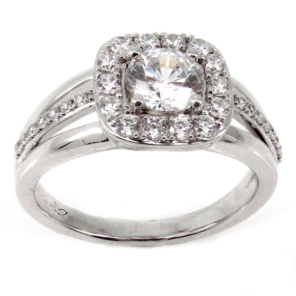 Cushion Halo Engagement Ring Mounting (0.52 ct. tw.)
