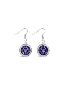 United States Navy Earrings