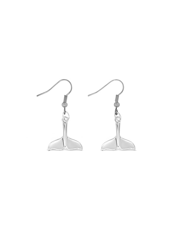 Whale Tale Earrings
