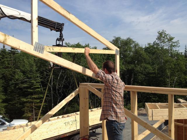 Construction support services for Passive House quality assurance.
