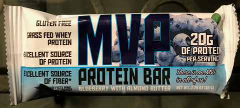 Blueberry MVP Protein Bars (12)