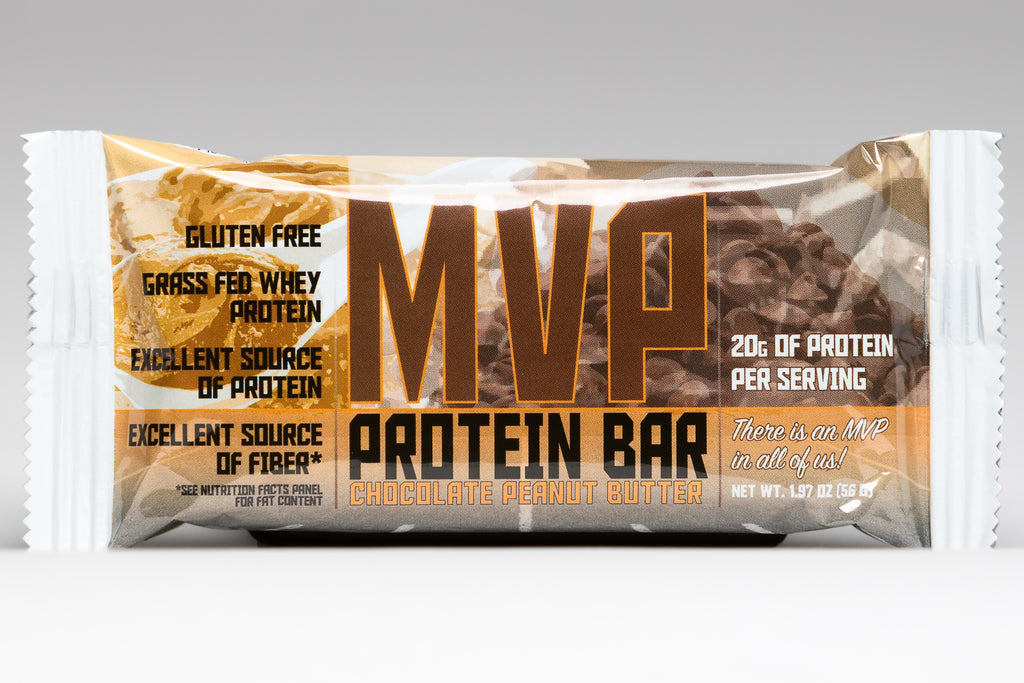 Chocolate Peanut Butter MVP Protein Bars (12)