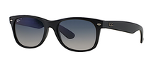 RAY BAN RB 2132 NEW WAYFARER MATTE BLACK POLARIZED -  - Sunglasses - Sunglass Trend - 1