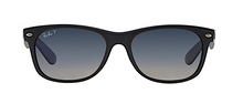 RAY BAN RB 2132 NEW WAYFARER MATTE BLACK POLARIZED -  - Sunglasses - Sunglass Trend - 2