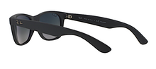 RAY BAN RB 2132 NEW WAYFARER MATTE BLACK POLARIZED -  - Sunglasses - Sunglass Trend - 5
