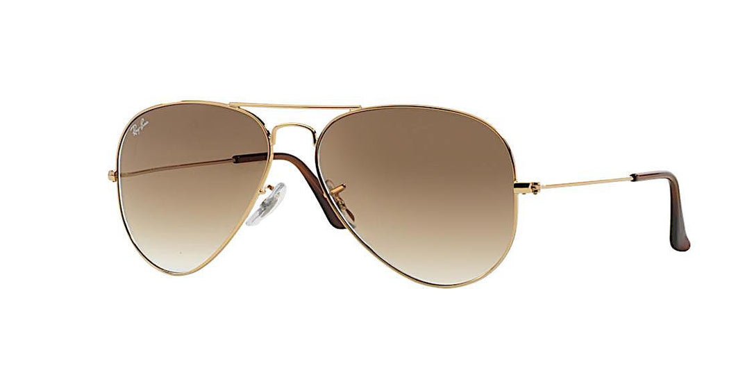 RAY BAN RB 3025 001/51 GOLD WITH BROWN GRADIENT -  - Sunglasses - Sunglass Trend - 1
