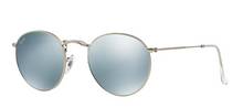 RAY BAN RB 3447 SILVER WITH SILVER FLASH MIRROR LENSES -  - Sunglasses - Sunglass Trend - 1
