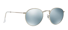 RAY BAN RB 3447 SILVER WITH SILVER FLASH MIRROR LENSES -  - Sunglasses - Sunglass Trend - 3