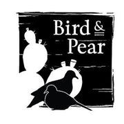 We are from South Texas where Bird and Pear means a mourning dove and a prickly pear.