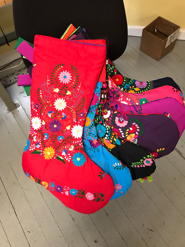 Mexican Dress Christmas Stockings