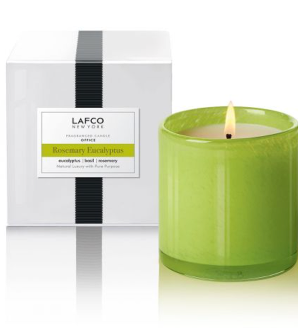 Rosemary Eucalyptus Candle from lafco