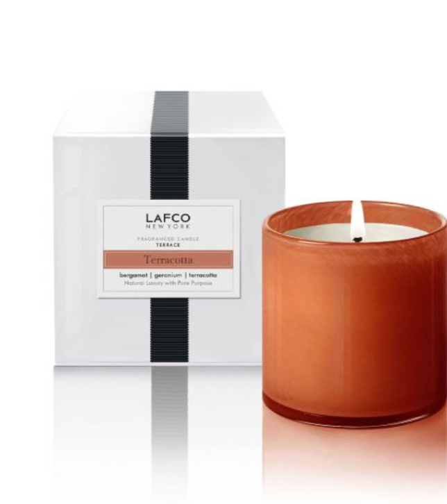 Terracotta Candle from Lafco