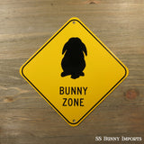 Lop Bunny Zone sign