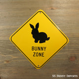 Bunny Zone sign