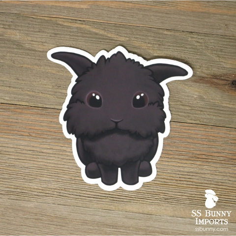 Seal helicopter lionhead lop sticker