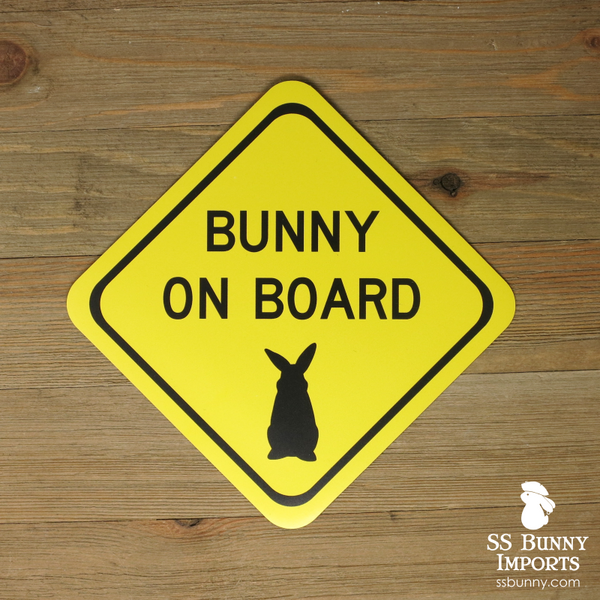 Bunny on board magnet