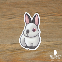 Himalayan rabbit sticker