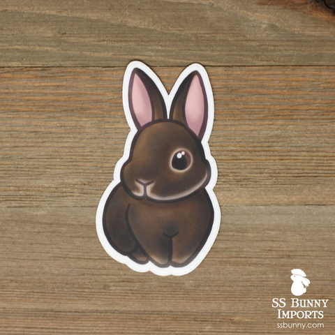 Agouti rabbit sticker