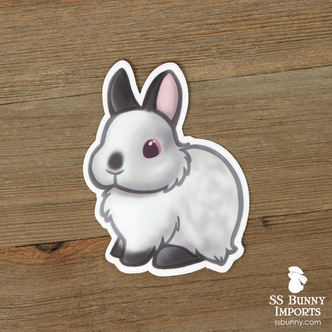 Himalayan dwarf rabbit sticker