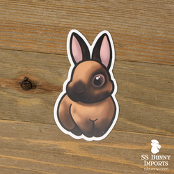 Cinnamon rabbit sticker