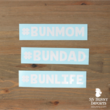 #BUNDAD hashtag decal