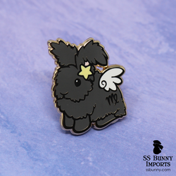 Virgo bunny horoscope hard enamel pin