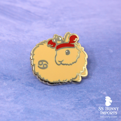 Cancer bunny horoscope hard enamel pin