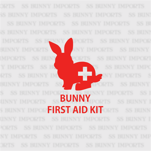 First aid kit rabbit decal