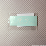 Peeking English lop decal