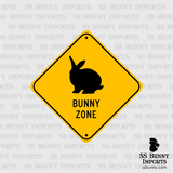 Rex Bunny Zone sign