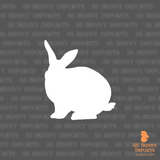 Rex rabbit silhouette decal