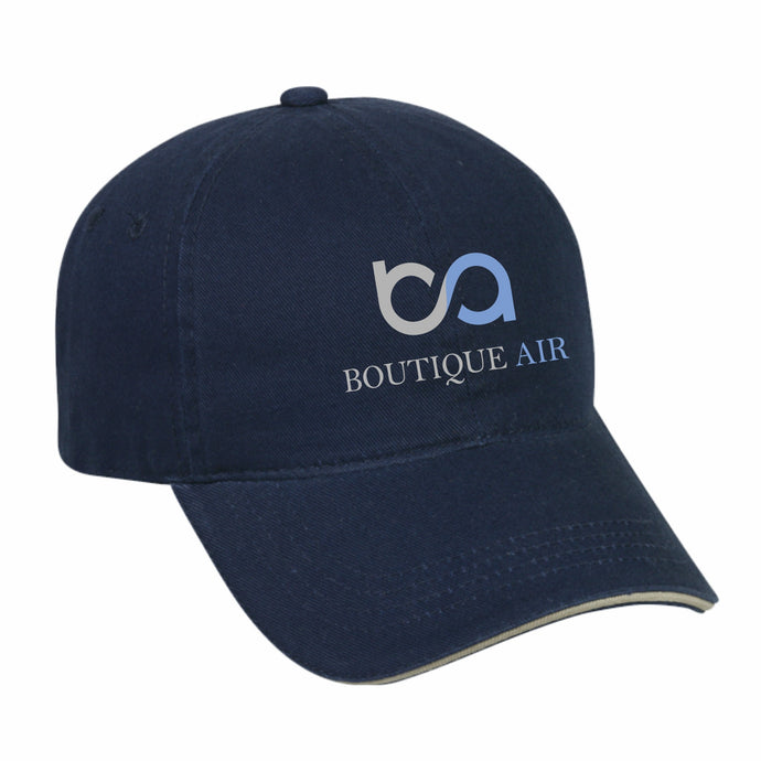 Boutique Air Blue Baseball Cap
