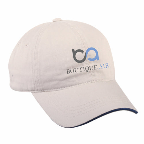 Boutique Air Khaki Baseball Cap