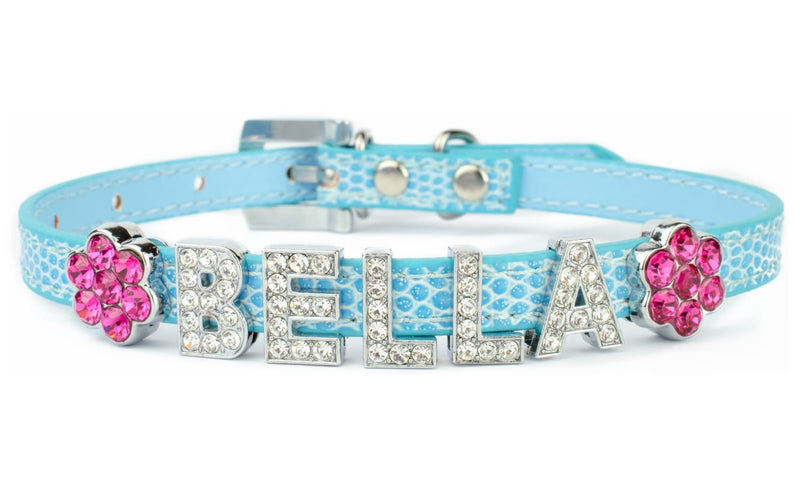 Get Character for Your Dog with a Personalized Dog Collar with Bling Name