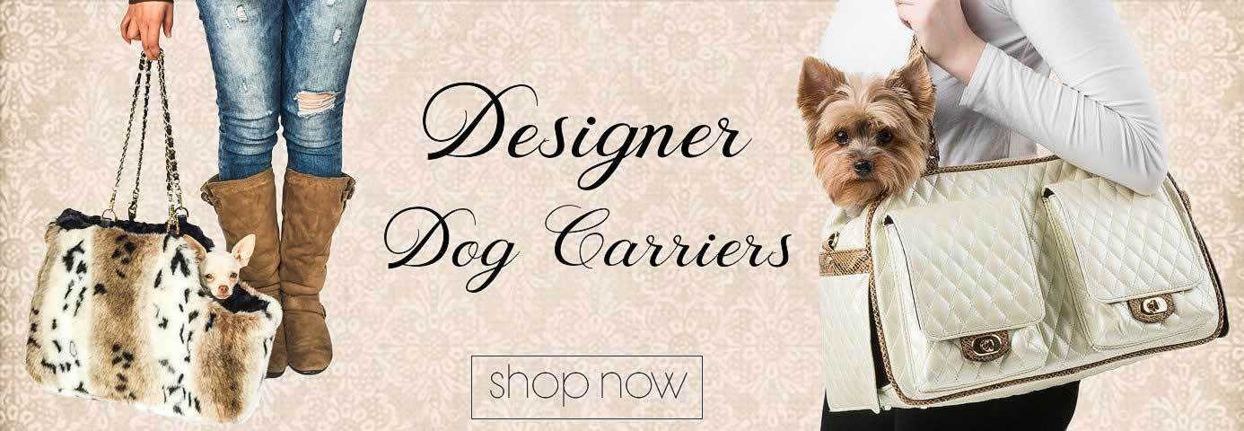 Luxury & Designer Dog Carrier Purses