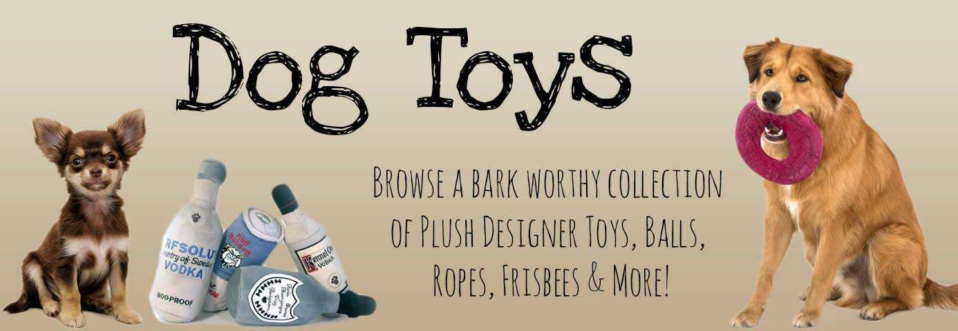 Designer Dog Boutique Plush Dog Toys