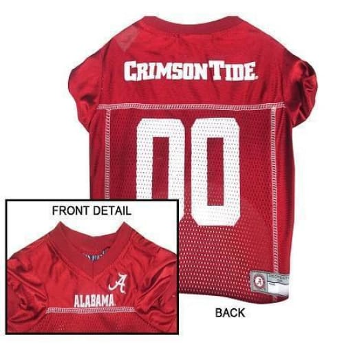 Alabama Crimson Tide Dog Jersey - College Dog Jerseys - 2
