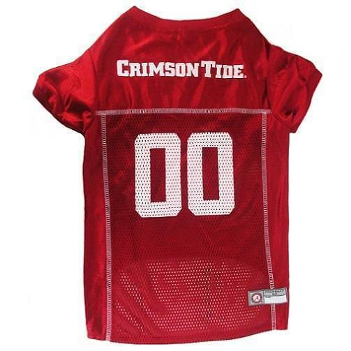 Alabama Crimson Tide Dog Jersey - College Dog Jerseys - 1
