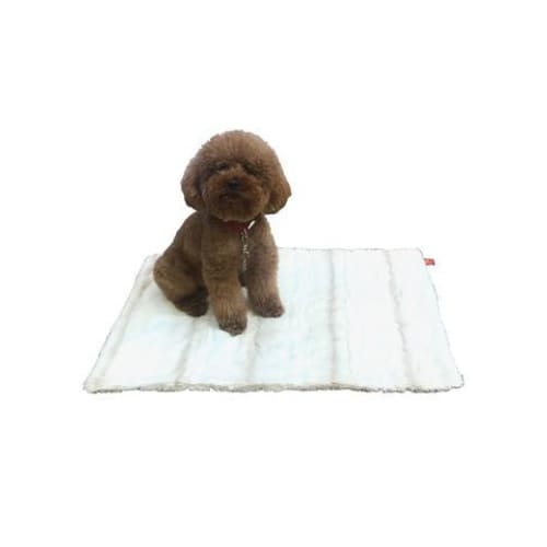 Angora Ombre in Biscotti Minkie Binkie Blanket for Dogs - Dog Blankets - 2