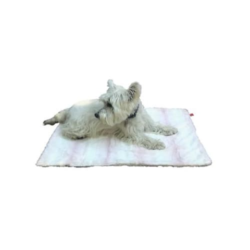 Angora Ombre in Rosewater Minkie Binkie Blanket for Dogs - Dog Blankets - 1