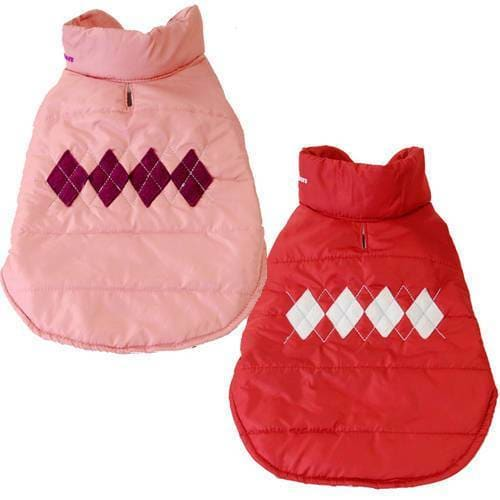 Argyle Dog Jacket - 2
