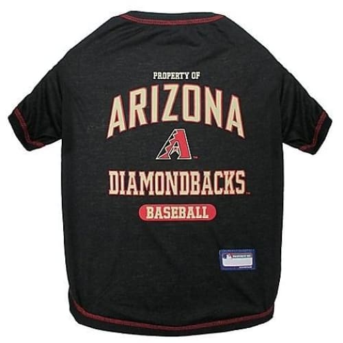 Arizona Diamondbacks Dog Tee Shirt - 1