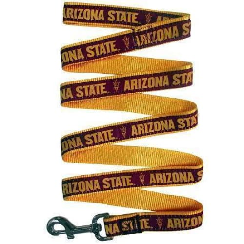 Arizona State University Dog Leash Ribbon - College Dog Leashes - 1