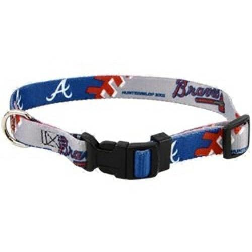Atlanta Braves Dog Collar - 1