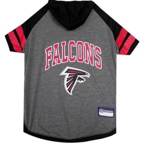 Atlanta Falcons Hoody Dog Tee - 1