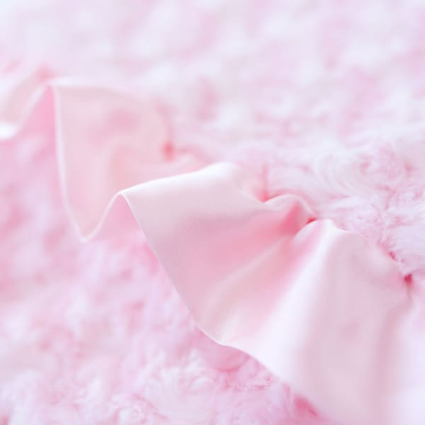 Baby Ruffle Dog Blanket by Hello Doggie Baby Pink - Dog Blankets - 2