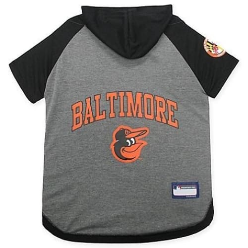 edc9bcd0f Baltimore Orioles Hoodie Dog Tee Pets First