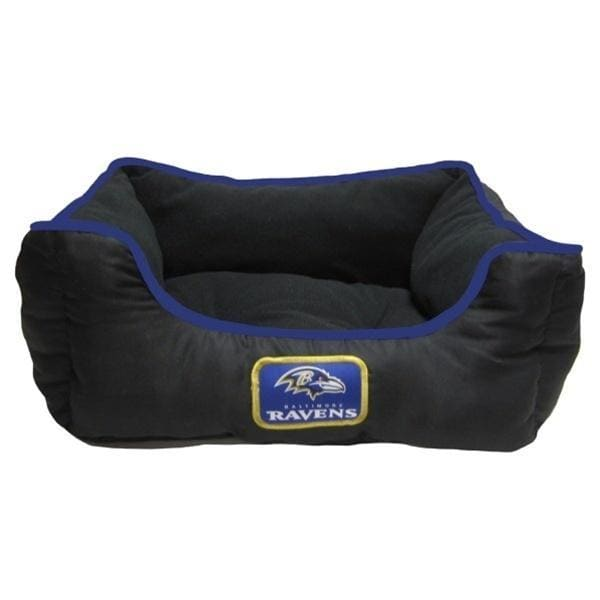 Baltimore Ravens Bed for Dogs - 1