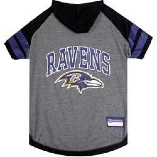 Baltimore Ravens Hoody Dog Tee - 1